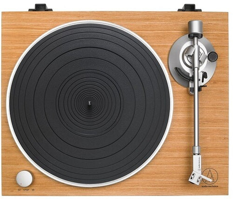 Audio Technica AT-LPW30TK Fully Manual Belt Drive Turntable Wood Base