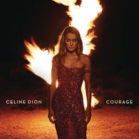 Celine Dion - Courage (Clear and Red Vinyl)