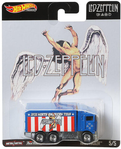 "Led Zeppelin Hot Wheels: ""Highway Hauler™"" - Limited Collectible Toy Cars"