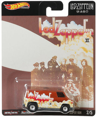 "Led Zeppelin Hot Wheels: ""Super Van"" - Limited Collectible Toy Cars"
