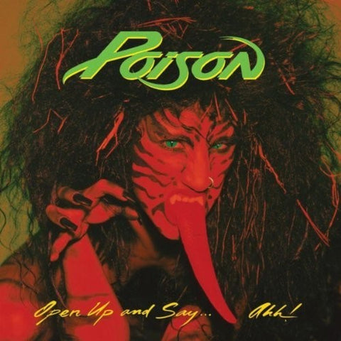 Poison - Open Up And Say Ahh (Limited Edition Gold Vinyl)