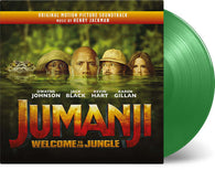 Henry Jackman ‎– Jumanji: Welcome To The Jungle (Limited Edition of 300 Copies on Jungle Green Vinyl + Exclusive Poster)