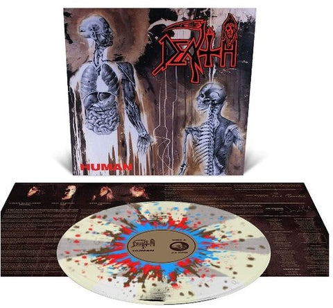 Death - Human (Clear Vinyl, White, Brown, Red, Blue)