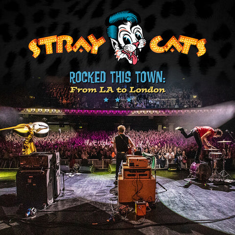 Stray Cats - Rocked This Town: From La To London (2lp, printed on light blue colored vinyl)