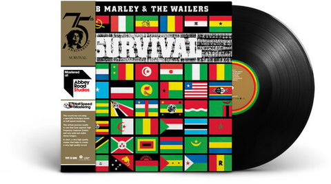 Bob Marley & the Wailers - Survival (Half-Speed Mastered at Abbey Roads Studios)