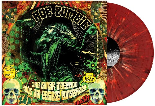 Rob Zombie - The Lunar Injection Kool Aid Eclipse Conspiracy (Red with Black & White Splatter)