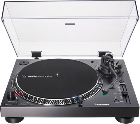 Audio Technica AT-LP120XUSB-BK Direct-Drive Analog & USB Turntable (Black)