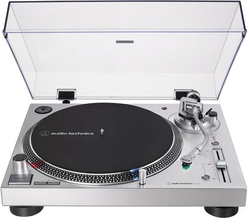 Audio Technica AT-LP120XUSB-BK Direct-Drive (Silver)