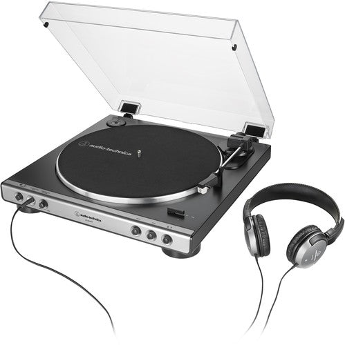 Audio Technica AT-LP60XHP-GM Fully Automatic with Headphones