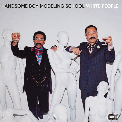 Handsome Boy Modeling School - White People (White Opaque Vinyl) [Explicit Content]