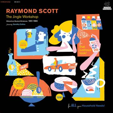 Raymond Scott - The Jingle Workshop: Midcentury Musical Miniatures 1951-1965 (BLUE/GOLD VINYL) / RSDBF 2019