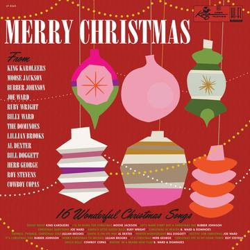 Various - Merry Christmas From King Records (RED VINYL) / RSDBF 2019