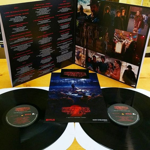 Stranger Things: Music From The Netflix Original Series (Gatefold LP Jacket, Poster, Stickers, 2PC)