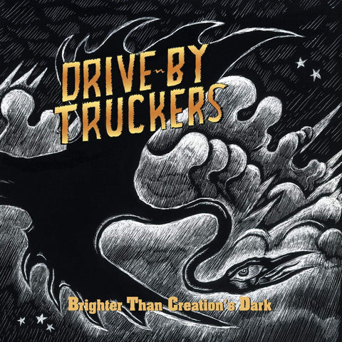 Drive-By Truckers - Brighter Than Creation's Dark (Black and Clear Vinyl)