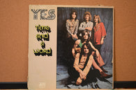 Yes ‎– Time And A Word