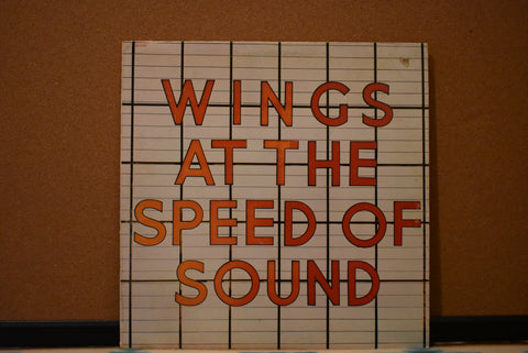 Wings ‎– Wings At The Speed Of Sound