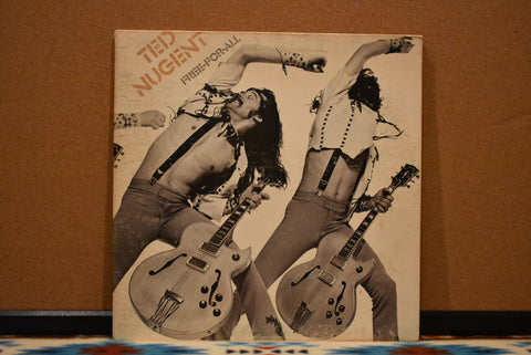 Ted Nugent ‎– Free-For-All