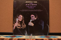 Johnny Cash With June Carter ‎– Give My Love To Rose