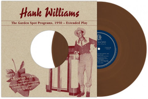 Hank Williams ‎– The Garden Spot Programs, 1950-Extended Play (10inch, Brown Marbled)