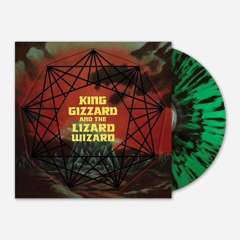 King Gizzard And The Lizard Wizard ‎– Nonagon Infinity (Black and Green Splatter Vinyl)