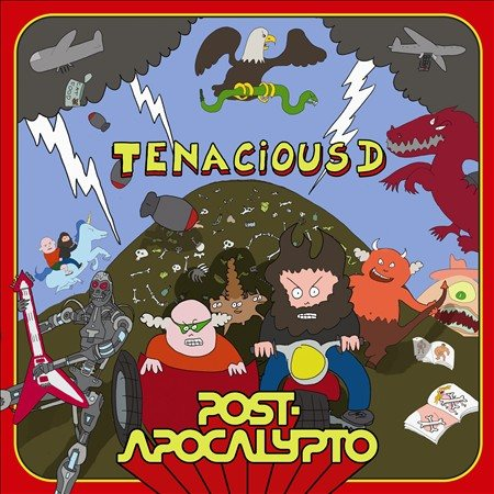 Tenacious D - Post-Apocalypto [Explicit Content] (Limited Edition Colored Vinyl, Booklet Included)