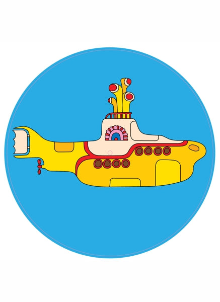 The BEATLES Platter Pad - Yellow Submarine!