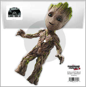 Various ‎– Music From Guardians Of The Galaxy Vol. 2 (Collectable Baby Groot Vinyl)