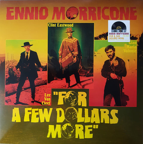 "Ennio Morricone ‎– For A Few Dollars More (10"" Yellow Vinyl, RSD Exclusive)"