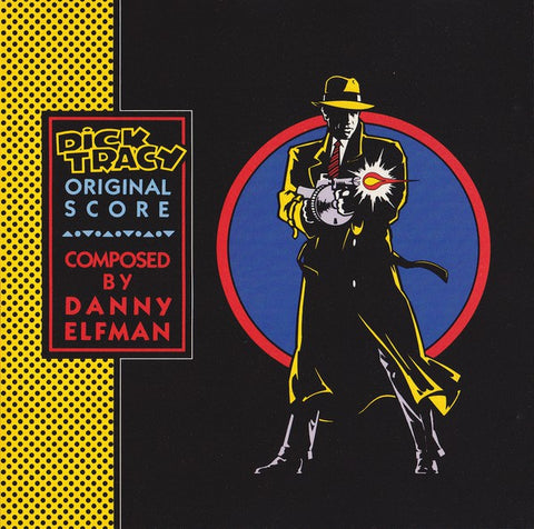 DANNY ELFMAN - DICK TRACY (Transparent Blue Vinyl)