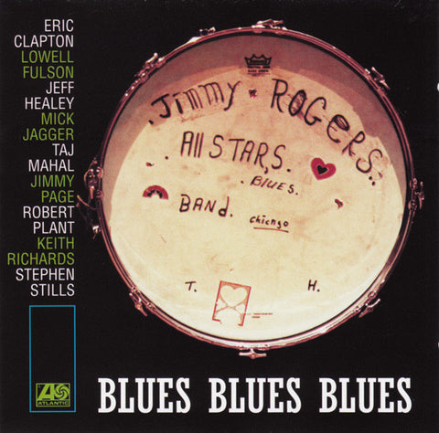 The Jimmy Rogers, All-Stars - blues blues blues (First Time On Vinyl)(2LP)(SYEOR Exclusive 2019)