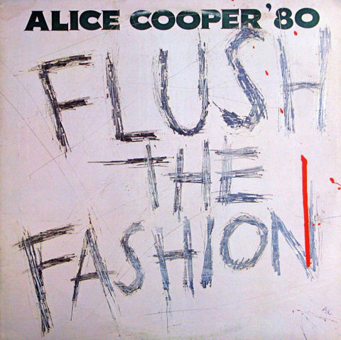 Alice Cooper ‎–Flush The Fashion (Colored Vinyl)