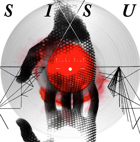 Sisu ‎– Light Eyes (ILimited Edition, Clear with Red Haze )
