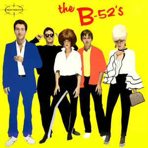 The B-52's ‎–The B-52's (Yellow Vinyl)
