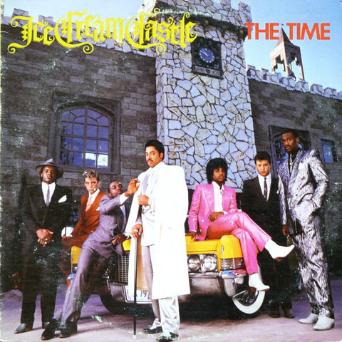 The Time ‎– Ice Cream Castle (Neapolitan split color vinyl)