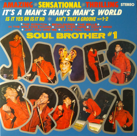James Brown ‎– It's A Man's Man's World: Soul Brother #1