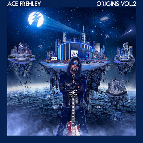 Ace Frehley - Origins, Vol. 2 (BLUE AND WHITE VINYL)