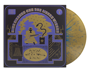 King Gizzard - Flying Microtonal Banana (Gold/Blue Splatter)