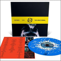 Nothing - The Great Dismal (Standard Edition- Blue with Silver and White Splatter)