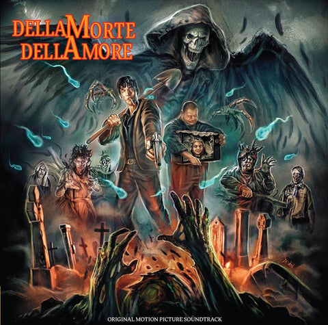 Manuel De Sica – Dellamorte Dellamore (Original Motion Picture Soundtrack, Limited Edition Clear with Streaks Vinyl)
