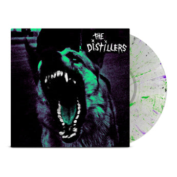The Distillers - The Distillers (Indie Exclusive clear with green purple black splatter)
