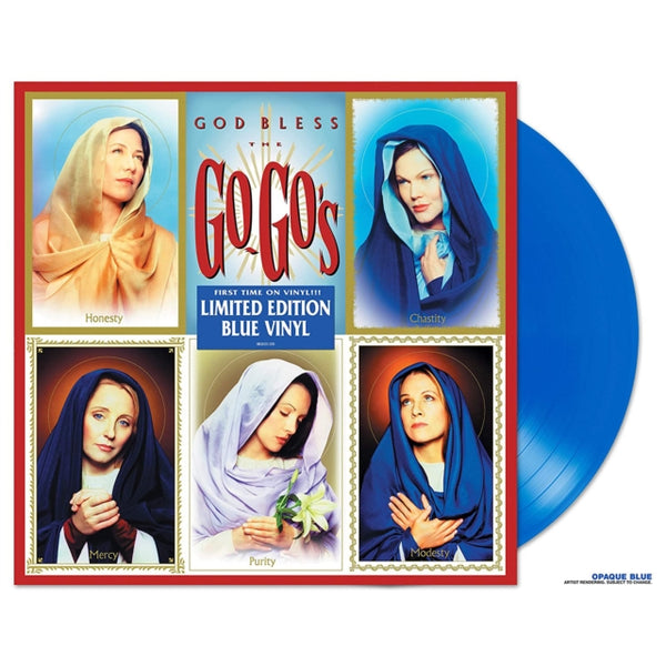 Go-Go's - God Bless The Go-go's (Blue Vinyl)