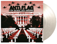 Anti-Flag -  For Blood & Empire (White Marbled Vinyl)