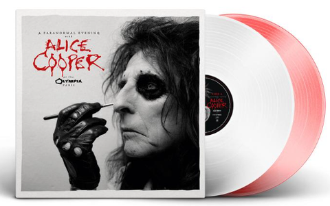 ALICE COOPER- A Paranormal Evening With Alice Cooper at the Olympia, Paris 2LP (COLORED VINYL)