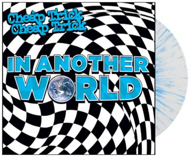 Cheap Trick - In Another World LP (IE Blue & White Splatter Vinyl)