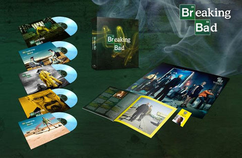 "BREAKING BAD - MUSIC FROM THE ORIGINAL TV SERIES (5x10"" colored vinyl box set)"