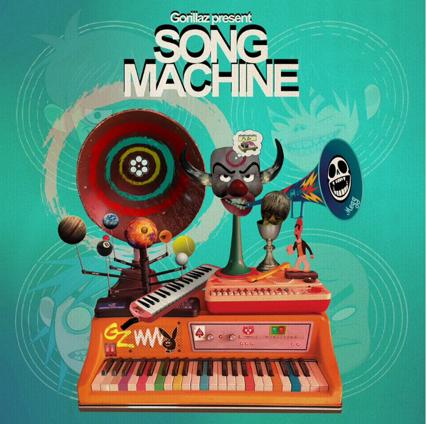 Gorillaz - Song Machine, Season one (Indie Exclusive NEON ORANGE VINYL)