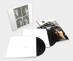 THE BEATLES:  White Album 4 LP Deluxe Edition