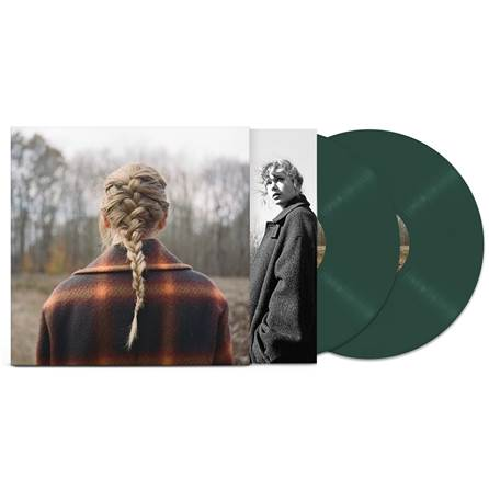 Taylor Swift - Evermore [Explicit Content] (Limited Edition Green Vinyl)