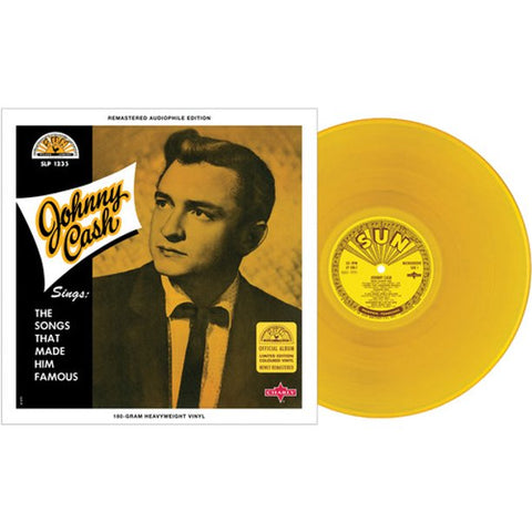 Johnny Cash - Johnny Cash Sings the Songs That Made Him Famous (Gold Vinyl)