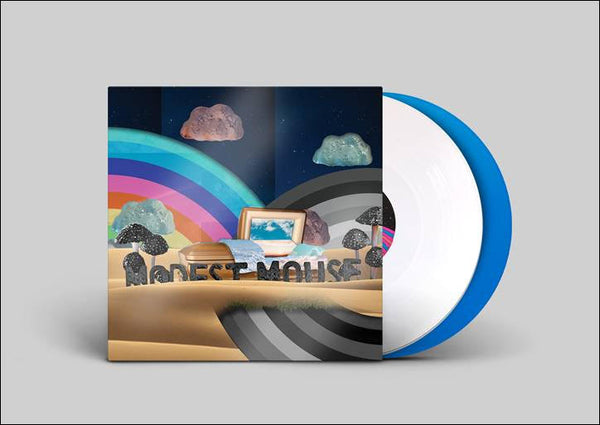 Modest Mouse -  The Golden Casket (White and Blue Vinyl)